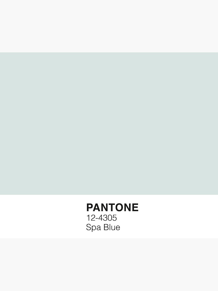 Spa Blau Pantone von PineappleInk