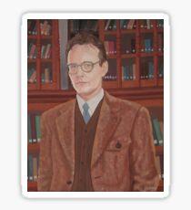 Rupert Giles in his natural habitat Sticker