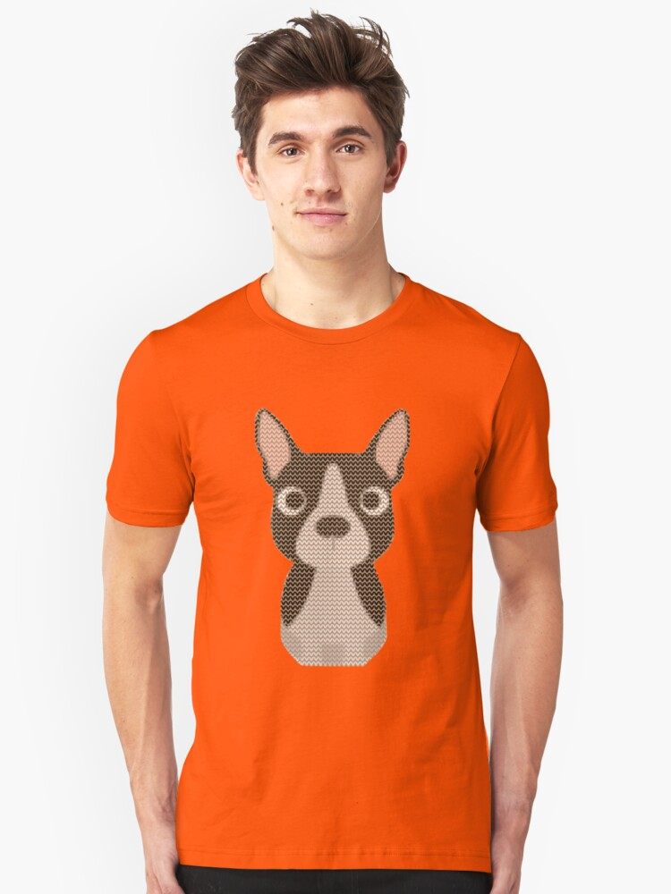 Boston Terrier Christmas Sweater.Boston Terrier Ugly Christmas Sweater Design T Shirt By Doggystyles
