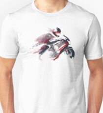 Motorcycle speed through space T-Shirt