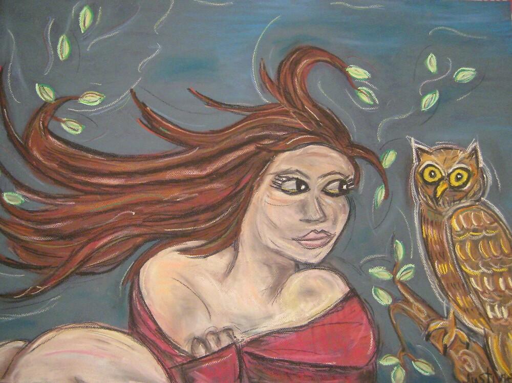 Athena,Goddess of Wisdom by justineb