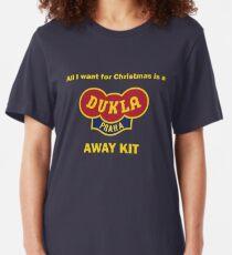 Dukla Prague Away Kit Slim Fit T-Shirt
