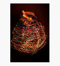 Chrismas Gone Mad Photographic Print