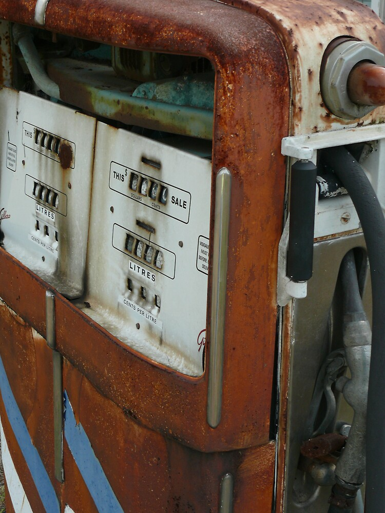 Old fuel pump by Tim Everding