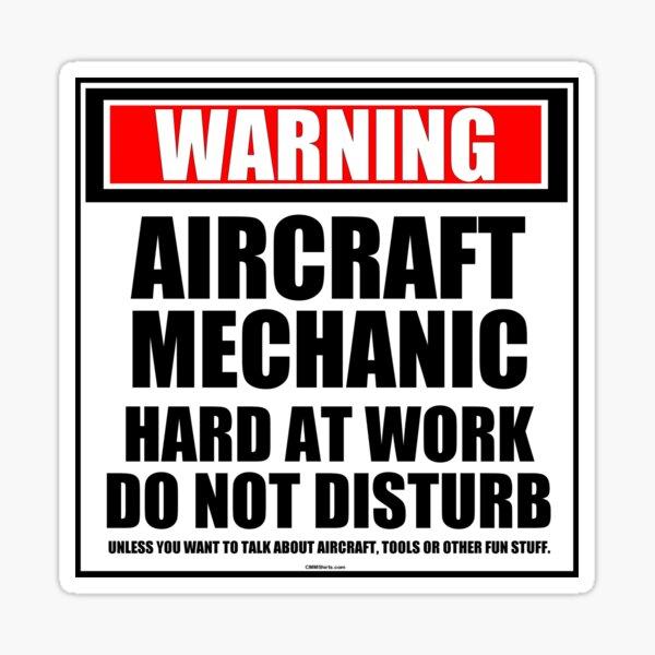 Printed Mechanic Warning Flying Tools Hoodie