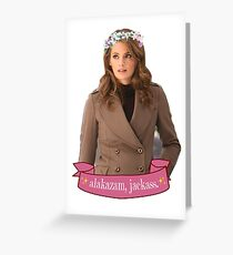"""Alakazam"" - Kate Beckett Greeting Card"