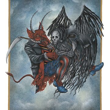 Devil & Death by HanaStupica
