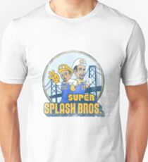 Super Splash Bros  Slim Fit T-Shirt
