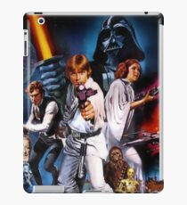 Star Wars poster iPad Case/Skin