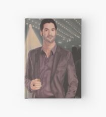 Lucifer in his natural habitat Hardcover Journal