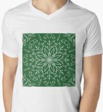Single Snowflake - Green T-Shirt