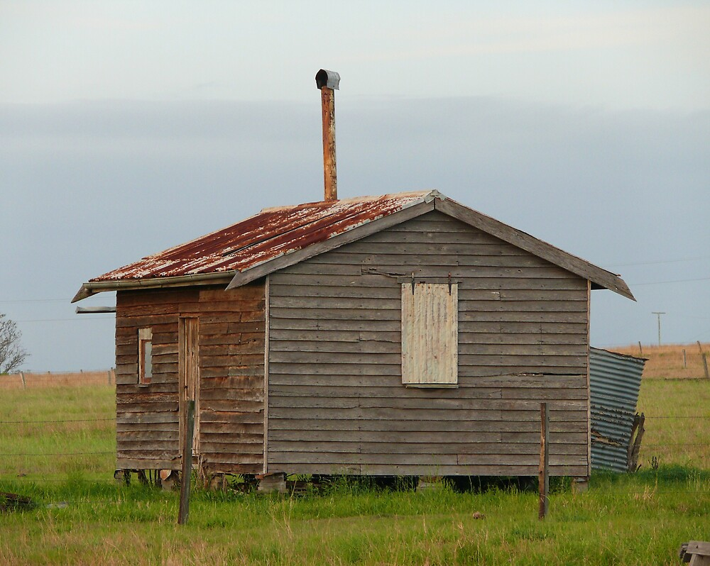 Old hut by Tim Everding