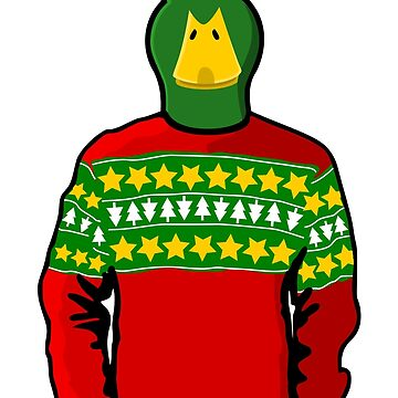 Christmas Sweater Duck by pda1986