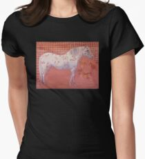 Power Image No. 7-Connection to Ancestors Women's Fitted T-Shirt