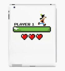 Player 1 Goofy iPad Case/Skin