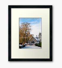 Black & White Church ~ Melverley, Shropshire Framed Print