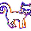 Any cat is a cat from his whiskers to his tail... by Madalena Lobao-Tello
