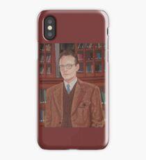 Rupert Giles in his natural habitat iPhone Case/Skin