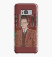 Rupert Giles in his natural habitat Samsung Galaxy Case/Skin