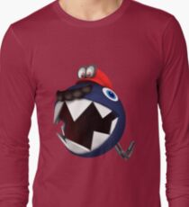Chain Chomp Mario Long Sleeve T-Shirt