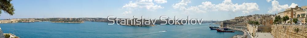 Three Cities Panorama  by Stanislav Sokolov