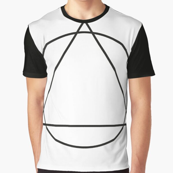 Circle and Triangle Alcoholics Anonymous Logo Graphic T-Shirt
