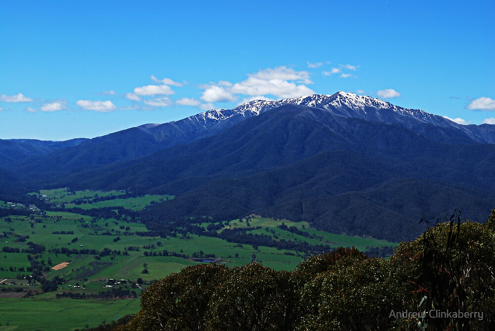 Mount Bogong  by Andrew Clinkaberry
