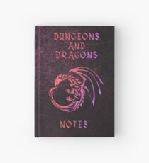 Dungeons and Dragons Notebook Hardcover Journal