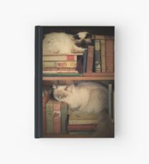 Library Cats Hardcover Journal