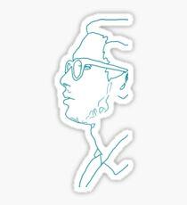 transparent john Sticker