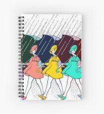 Those Salty Girls Spiral Notebook
