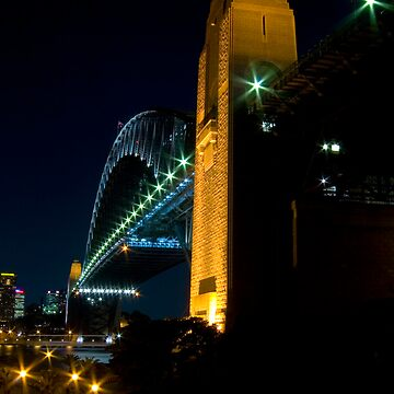 Sydney Habour Bridge at Night by outafocus