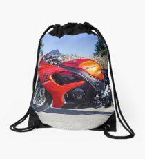 Orange Hayabusa Drawstring Bag