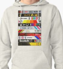 VHS Tapes Pullover Hoodie