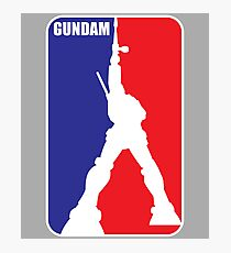 Gundam (NBA Style) Photographic Print