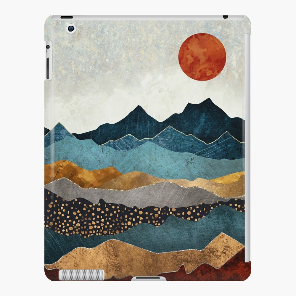 Amber Dusk iPad Case & Skin