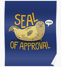 Seal of Approval Poster