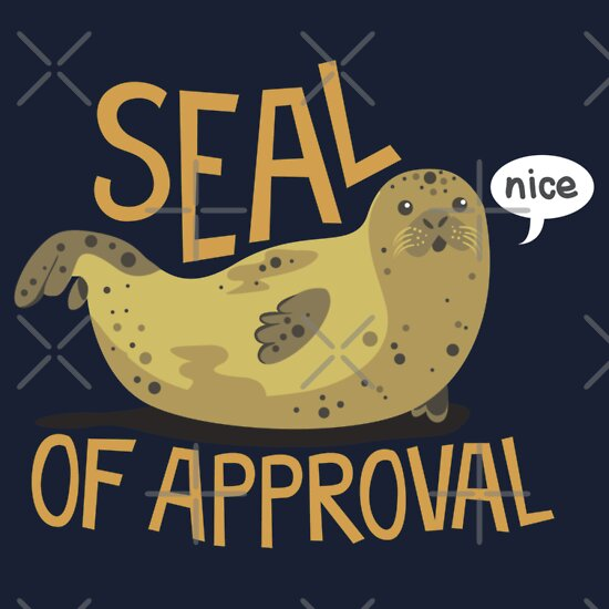 Seal of Approval | Unisex T-Shirt, a t-shirt of animal, seal, and