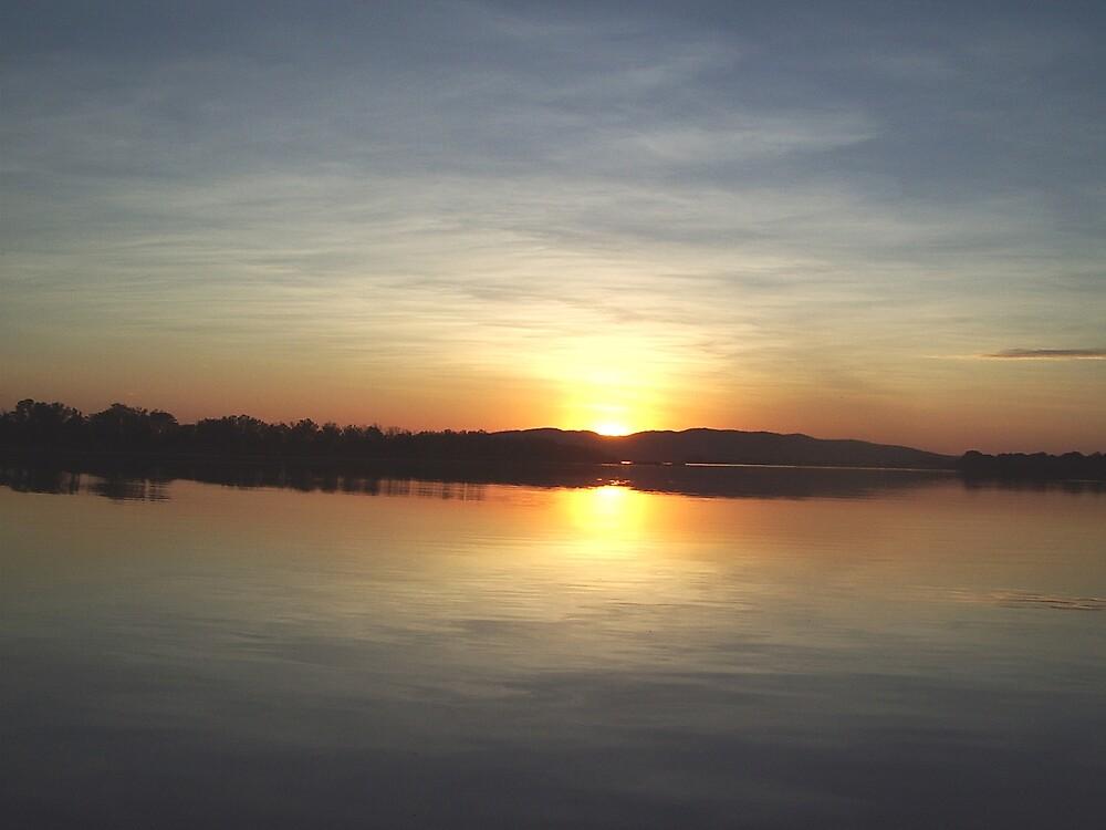 Sunset over Lake Kununurra in September 2008 by BeefyDave