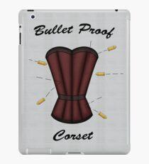 Bulletproof Corset iPad Case/Skin