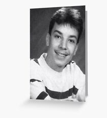 Jimmy Fallon - Yearbook Pic Greeting Card