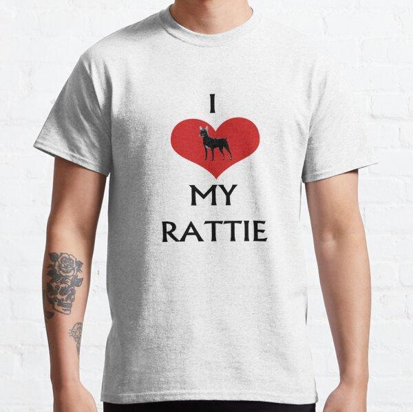 I LOVE MY RATTIE Classic T-Shirt