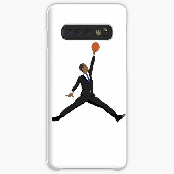 Obama black suit x Jumpman Samsung Galaxy Snap Case