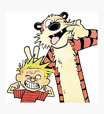 Calvin and Hobbes-Original Photographic Print