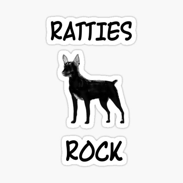Ratties Rock Sticker