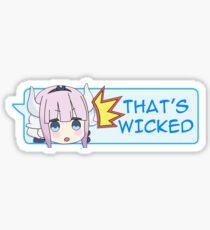 Wickedddd Sticker
