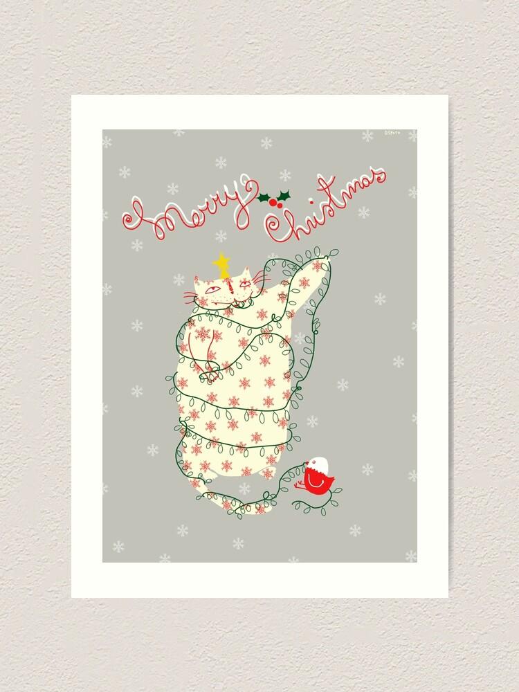 Alternate view of Merry Christmas! Art Print