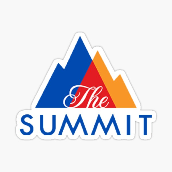 Cheerleading Summit Sticker Sticker