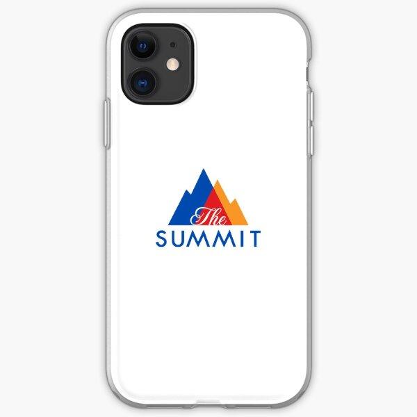 Cheerleading Summit Sticker iPhone Soft Case