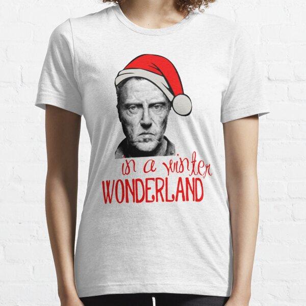 Christopher Walken Santa Claus Essential T-Shirt